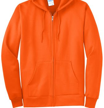 STAFF-Fleece Full-Zip Hooded