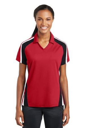 SUMMER – Sport-Tek Ladies Tricolor Sport-Wick Polo