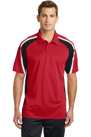 SUMMER – Sport-Tek Men Tricolor Sport-Wick Polo