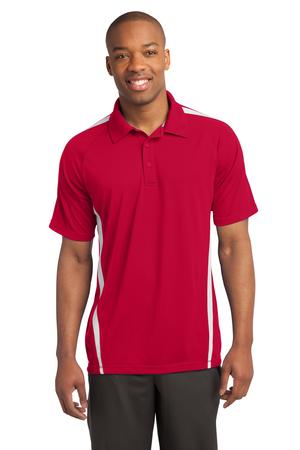Sport-Tek Men PosiCharge Micro-Mesh Colorblock Polo
