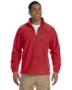 Harriton Men 8 oz. Full-Zip Fleece