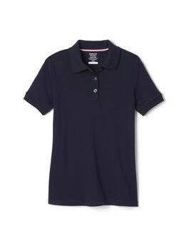 Short Sleeve Interlock Polo with Picot Collar Clermont